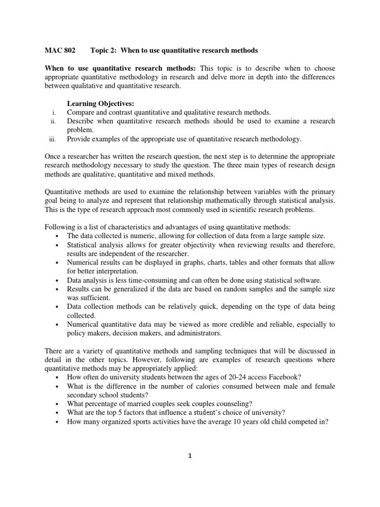 Shots | Qualitative Research | Quantitative Research