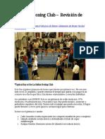 La Habra Boxing Club – Revisión de Gimnasio(1)