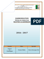 Programmes Master TP-VOA