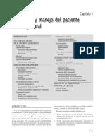 Evaluacion y Manejo Del Paciente en Cirugia Oral