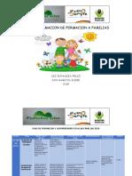 Cronograma Plan de Formacion a Flias