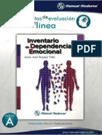 Aiquipa Tello - Inventario de Dependencia Emoc