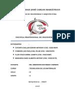 Unidades de Albañileria Informe