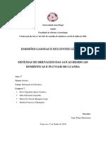 Sistemas de drenagem de águas residuais pluviais e domesticas de Luanda