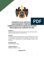 Identificación de Áreas para Centro de Almacenamiento Temporal