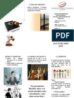 FILOSOFIA conocimiento juridico
