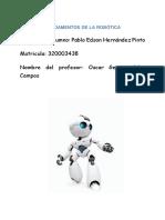 Fundamentos de La Robotica Ensayo PEHP