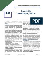 Hemorragias y Shock APAA