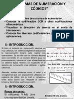 2.- Sistemas de Numeración y Códigos