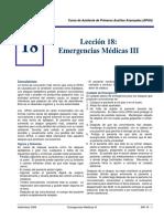 Emergencias Medicas III APAA