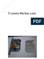 5 Levers Mortice Lock
