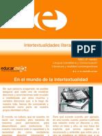 Intertextualidades literarias.ppt