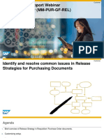 SAP Product Support Webinar