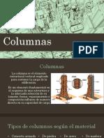 Columnas, Cadenas y Piso