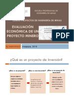 Clase 4 Proyecto de Ing de Minas