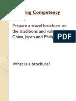 Travel Brochure Grade 8