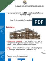 10 - Dimensionamento No ELU Sujeito a Solicitações Normais(Vigas)