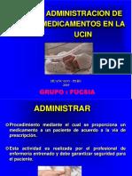 Administracion de Medicamentos en La Ucin