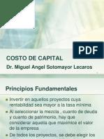 02. Costo de Capital