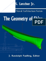 John S. Letcher Jr. Principles of Naval Architecture Series. the Geometry of Ships