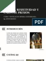 resistividad Ventilacion