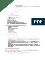 7 Questions-Operational Management Final
