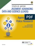Agency Based Police Research Cordner Brief Nij