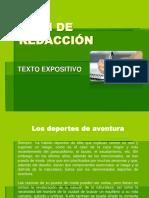 06. Plan de Redacción Texto Expositivo - Ejemplo