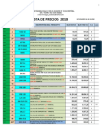 Lista 12 Noviembre Ferreagro 2018