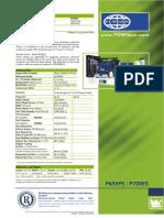 FGW P700E5 Generator Specifications