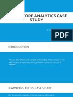 SAS Case Study