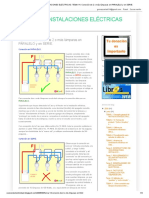 Curso de Instalaciones Eléctricas_ Tema 14. Conexión de 2 o Más Lámparas en Paralelo y en Serie
