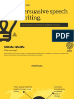 persuasive speech writing presentation