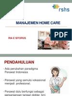 Manajemen Home Care