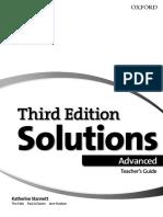 Solutions Advanced. Teacher's Guide_2018, 3rd -208p