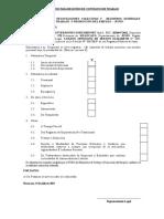 Solicitud Para Registro de Contratos de Trabajo Porta Import