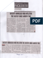 Philippine Daily Inquirer, June 11, 2019, Duterte addressed high inflation the fastest since Arroyo time.pdf