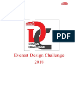 Design Challange Everest Industries CHENNAI