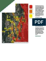 Flood Risk Map Villa Senorita