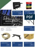 Gym Supply Master PDF