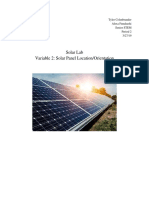 lab report 2  solar panel location orientation