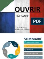 Découvrir la France