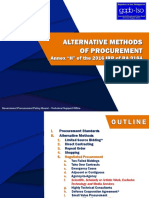 Alternative Methods of Procurement.05142019 RFR