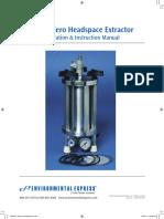 Zero Headspace Extractor (ZHE) Manual 08.2016
