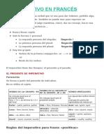 El Imperativo en Francés