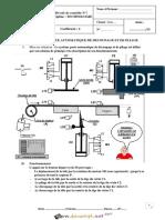 Devoir de Contrôle N°1 - Technologie - POSTE AUTOMATIQUE DE DECOUPAGE ET DE PLIAGE - 2ème Sciences (2016-2017) Mr Mighri Lotfi (1)