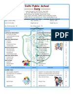 Report Card Format