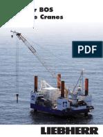 Liebherr Board Offshore Cranes Bos Series en 12909-0