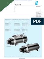 Eberspacher Heater Hydronic 16,24,30,35 Troubleshooting & Repair Manual