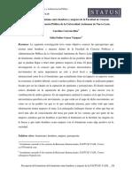 Percepción Del Feminismo Entre Hombres y Mujeres de La Facultad de Ciencias